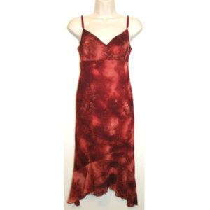 NWOT CITY TRIANGLES Slip Dress Empire Waist 0274E1